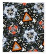 Harley Art 1 Fleece Blanket