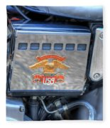 Harley Davidson 1 Fleece Blanket