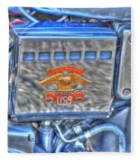 Harley Davidson 2 Fleece Blanket