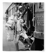 Harold Lloyd (1889-1971) Fleece Blanket