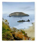 Harris Beach Fleece Blanket