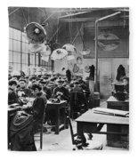 Hat Factory, C1900 Fleece Blanket