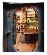 Hatch In Submarine Fleece Blanket