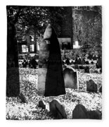 Haunted Cemetery Fleece Blanket