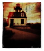 Haunted Lighthouse Fleece Blanket
