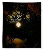 Haunting Moon IIi Fleece Blanket