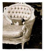 Have A Chair Fleece Blanket