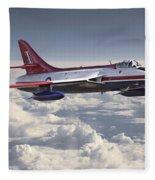 Hawker Hunter Fleece Blanket