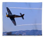 Hawker Sea Fury Fleece Blanket