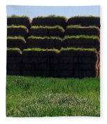 Hay Fleece Blanket