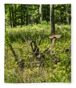Hay Cutter 2 Fleece Blanket