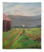 Hay Day Farm Fleece Blanket