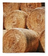 Hay There Fleece Blanket