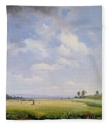 Haymaking Fleece Blanket