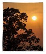 Hazy Sunset Fleece Blanket