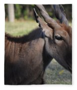 Headshot Eland Fleece Blanket
