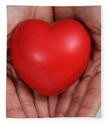 Heart Disease Prevention Fleece Blanket