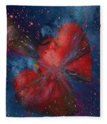 Hearts In Space Fleece Blanket