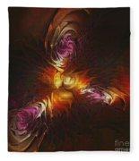 Heat Of Passion Fleece Blanket