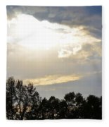 Heaven's Light 2 Fleece Blanket