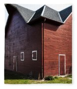 Heflin Barn Fleece Blanket