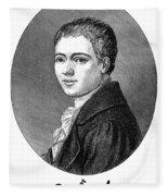 Heinrich Von Kleist Fleece Blanket