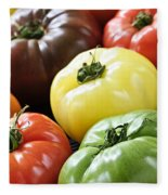Heirloom Tomatoes Fleece Blanket