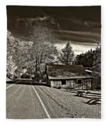 Helvetia Wv Monochrome Fleece Blanket