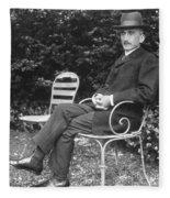 Henri Bergson (1859-1941) Fleece Blanket