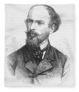 Henri Mouhot (1826-1861) Fleece Blanket