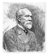 Henry Yule (1820-1880) Fleece Blanket