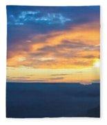 Here Comes The Sun Fleece Blanket