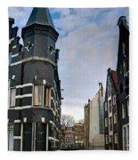 Herengracht 395. Amsterdam Fleece Blanket