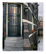 Herengracht 395 Bis. Amsterdam Fleece Blanket