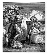 Heresy: Torture, C1550 Fleece Blanket