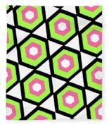 Hexagon Fleece Blanket