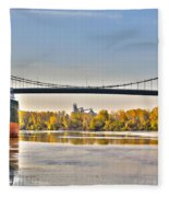 Hi-level Bridge Fleece Blanket