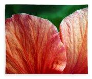 Hibiscus Fandango Fleece Blanket