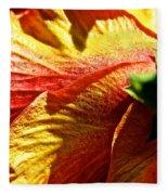 Hibiscus Fashion Fleece Blanket