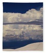 Hidden Mountains In The Shadows Of The Storm Fleece Blanket