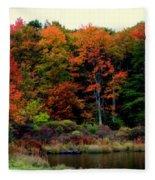 Hidden Valley Lake Fleece Blanket