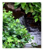 Hidden Waterfall Fleece Blanket