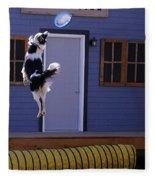 High Flying Catch Fleece Blanket