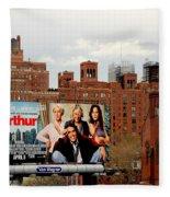 High Line Park 1 Fleece Blanket