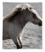 High Spirited Pony Fleece Blanket