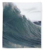 High Stormy Seas Fleece Blanket