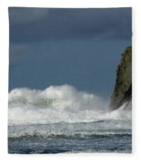 High Surf 2 Fleece Blanket
