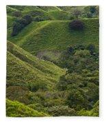 Hills Of Caizan 2 Fleece Blanket