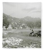 Himalayan Weather Fleece Blanket