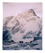Himalayas In Nepal Fleece Blanket